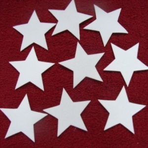 Streudeko Herzen, Sternchen, Sterne