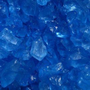 Deko-Eis, Glassteine 4-10 mm farbig