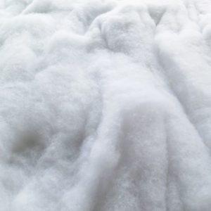 Schneewatte als Schneematte