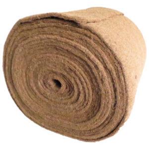 Unkrautschutzmatte aus Kokosfaser